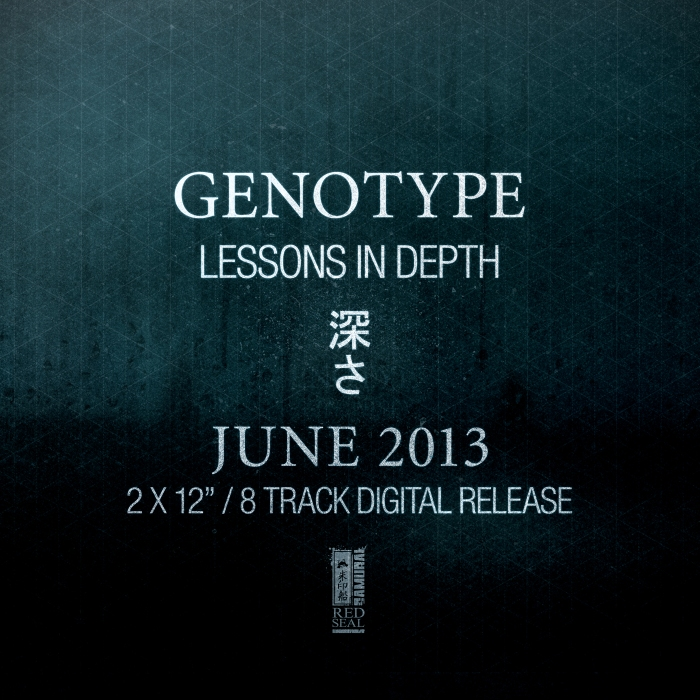 Genotype 'Monday Madness' // from the 'Lessons In Depth' EP